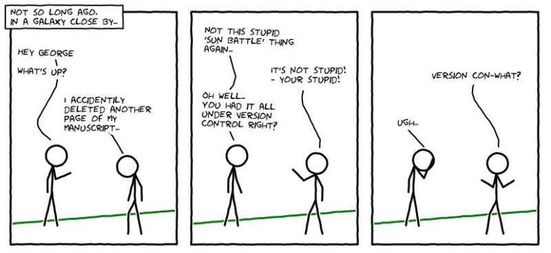 XKCD Version Control